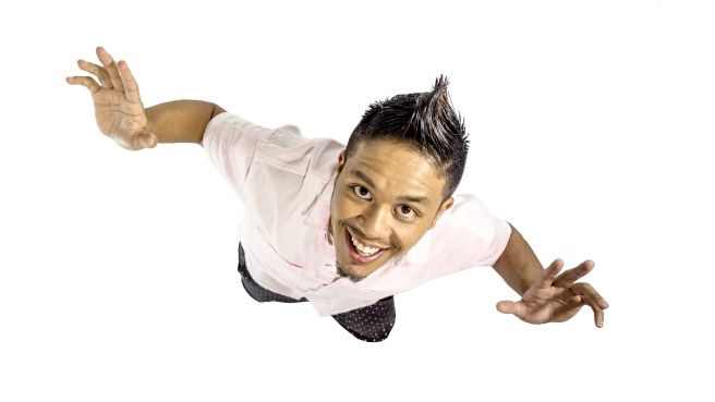 Willy Chin in promotional shots for his 2014 Birthday Bash.